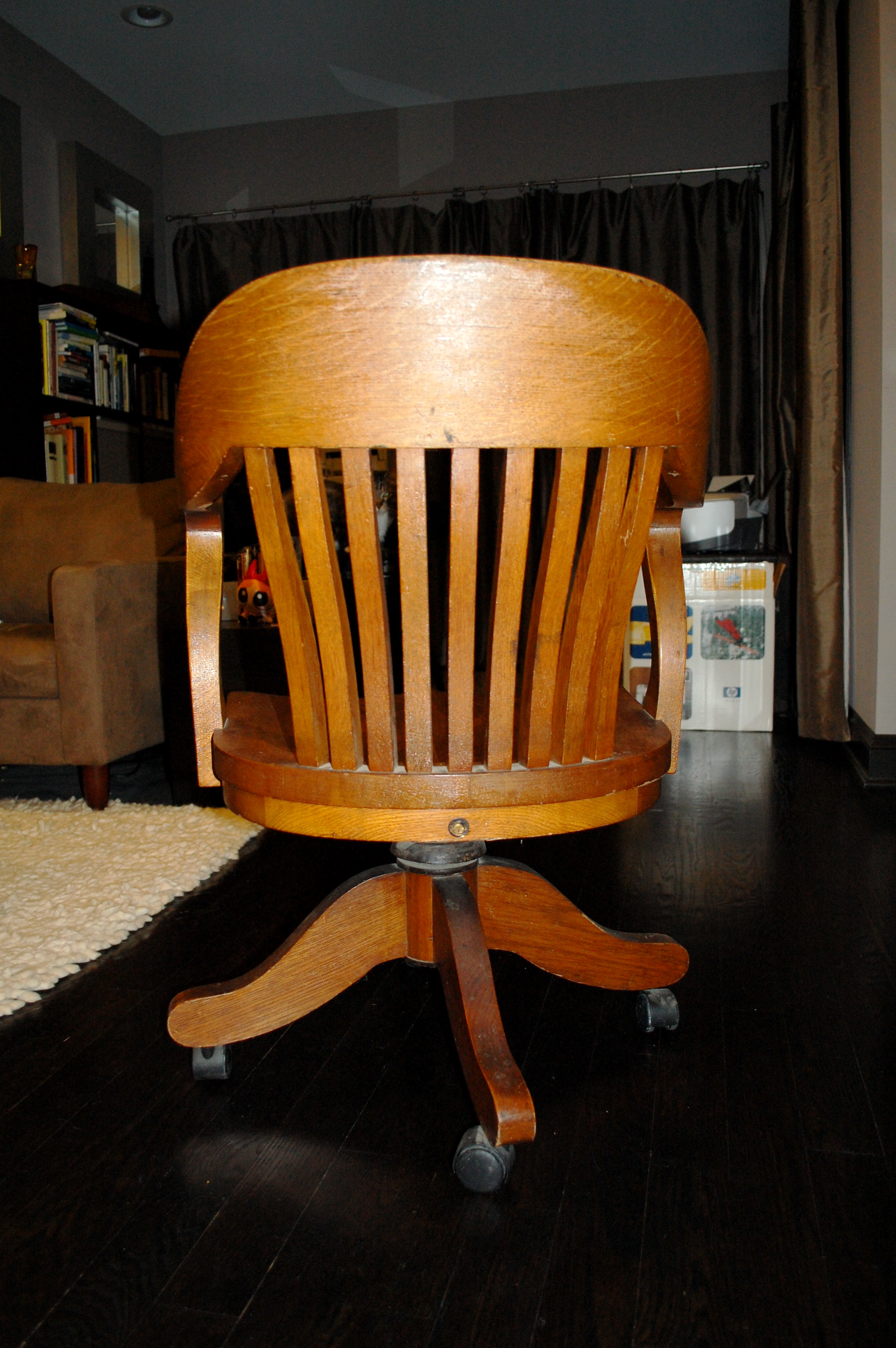 B.L. Marble Chair Company Back